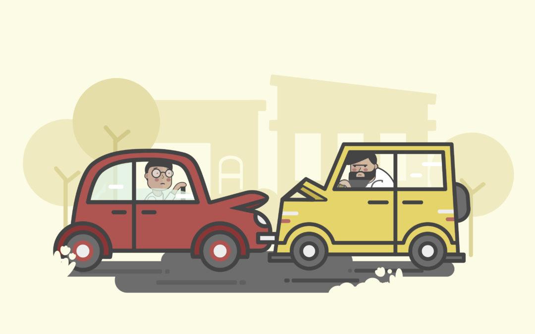 Desatero účastníka dopravní nehody aneb jak postupovat při dopravní nehodě + záznam o dopravní nehodě